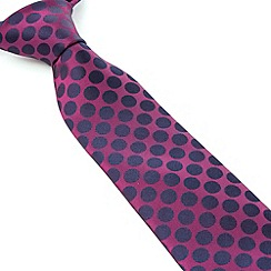 Stvdio by Jeff Banks - Stvdio by Jeff Banks Magenta Dots Tie
