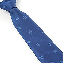 Stvdio by Jeff Banks - Stvdio by Jeff Banks Blue Daisy Tie