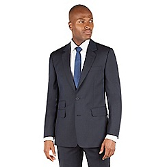 Hammond & Co. by Patrick Grant - Navy plain 2 button front tailored fit st james suit jacket