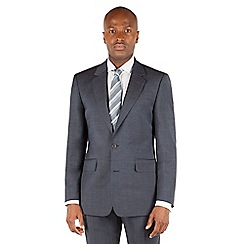 Hammond & Co. by Patrick Grant - Blue plain 2 button front tailored fit st james suit jacket