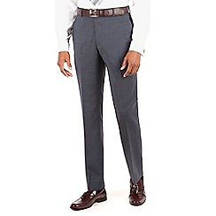 Hammond & Co. by Patrick Grant - Blue plain front tailored fit suit trouser