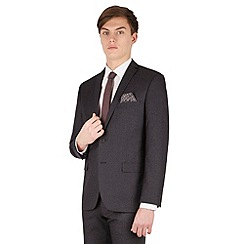 Red Herring - Navy tonal jaspe 2 button front slim fit suit