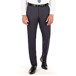 Red Herring - Grey jaspe check slim fit trouser