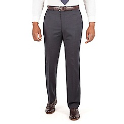 Centaur Big & Tall - Navy narrow stripe big and tall suit trouser.