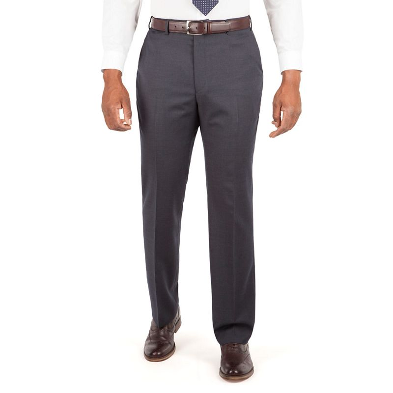 Centaur Big and Tall Navy Narrow Stripe Suit Trouser.,