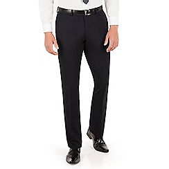 Red Herring - Red Herring Navy plain slim fit trouser