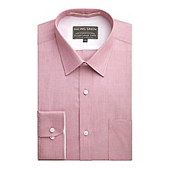Racing Green - Jenson Tailored Fit End On End Formal Shirt