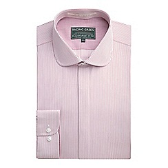 Racing Green - Fraser Tailored Fit Stripe Formal Shirt