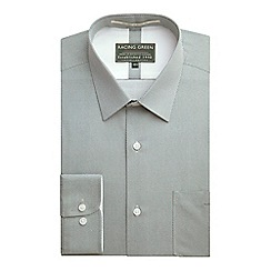 Racing Green - Century Tailored Fit Dot Print Formal Shirt