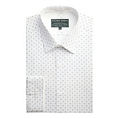 Racing Green - Selwyn Tailored Fit Print Formal Shirt