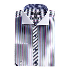 Stvdio by Jeff Banks - Stvdio by Jeff Banks Multi Jerba Stripe Shirt