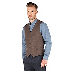 Racing Green - Heath Puppytooth Waistcoat