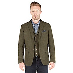 Racing Green - Empire Heavy Twill Blazer