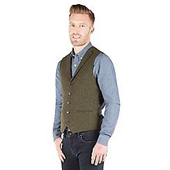 Racing Green - Empire Twill Waistcoat