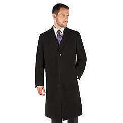 Jeff Banks - Jeff Banks London Black Classic Roma Overcoat