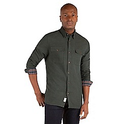 Racing Green - Ernest Solid Oxford Shirt
