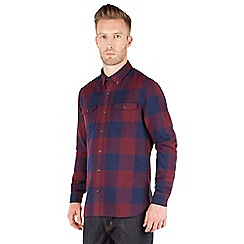 Racing Green - Joseph Brushed Cotton Large Check Shirt