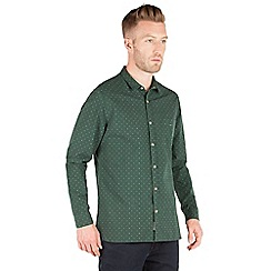 Racing Green - Crane All Over Dobby Shirt