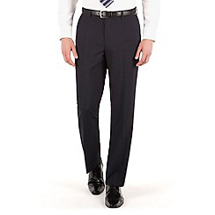 The Collection - Navy plain regular fit suit trouser