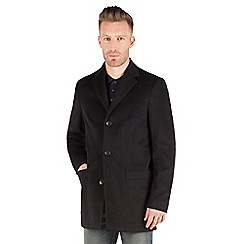 Racing Green - Sett Smart Wool Blend Coat