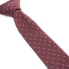 Racing Green - Maddox Flower Design Tie