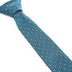 Racing Green - Boston Spot Design Tie