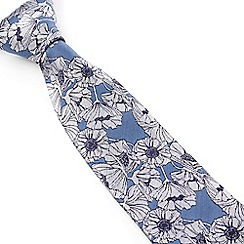 Stvdio by Jeff Banks - Stvdio by Jeff Banks Blue Poppy Tie