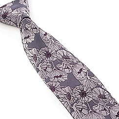 Stvdio by Jeff Banks - Stvdio by Jeff Banks Magenta Poppy Tie