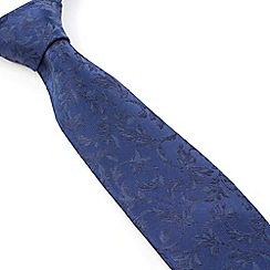Stvdio by Jeff Banks - Stvdio by Jeff Banks Blue Swirl Jacquard Tie