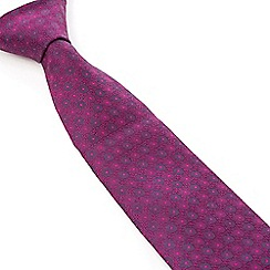 Stvdio by Jeff Banks - Stvdio by Jeff Banks Magenta Baroque Tie