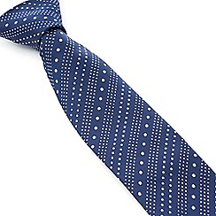 Stvdio by Jeff Banks - Stvdio by Jeff Banks Navy Ascending Dots Tie