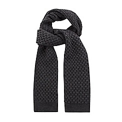 Racing Green - Sheldon Textured Knit Scarf