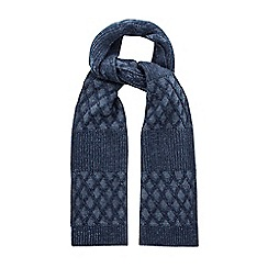 Racing Green - Norman Cable Knit Scarf