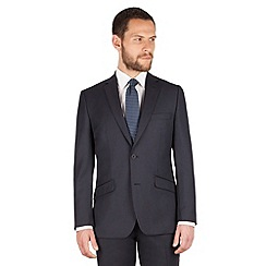 J by Jasper Conran - J by Jasper Conran Navy stripe 2 button front regular fit business suit jacket