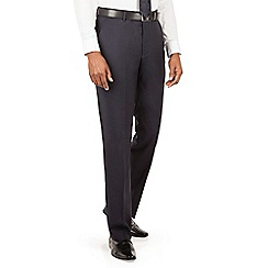 J by Jasper Conran - J by Jasper Conran J by Jasper Conran Navy flat front tailored fit italian suit trouser