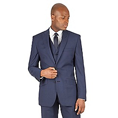 J by Jasper Conran - J by Jasper Conran Blue 2 button front tailored fit italian suit jacket