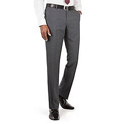 The Collection - Grey tonal check tailored fit suit trouser