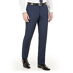 Red Herring - Blue puppytooth slim fit trouser