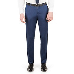 Red Herring - Bright blue micro slim fit trouser