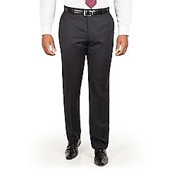 Centaur Big & Tall - Navy chalk stripe big and tall suit trouser