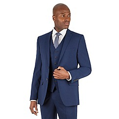 Stvdio Performance by Jeff Banks - Blue tailored fit 2 button jacket