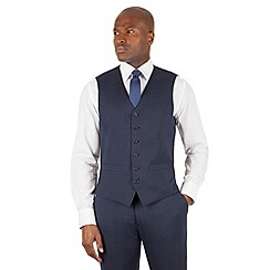 Stvdio Performance by Jeff Banks - Studio Performance by Jeff Banks Airforce pindot 6 button front tailored fit waistcoat