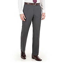 The Collection - Grey tonal check regular fit suit trouser