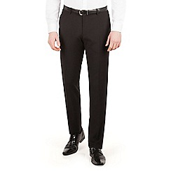 Red Herring - Black plain slim fit dress wear suit trouser
