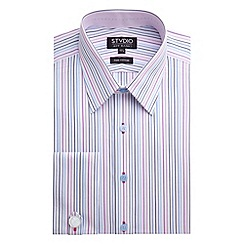 Stvdio by Jeff Banks - Stvdio by Jeff Banks Pink Multi Stripe Shirt