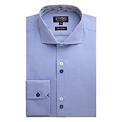 Stvdio by Jeff Banks - Blue Weaves Shirt