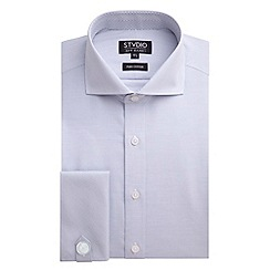 Stvdio by Jeff Banks - Stvdio by Jeff Banks Grey Horizontal Stripe Shirt