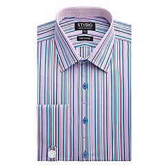 Stvdio by Jeff Banks - Bright Stripe Shirt