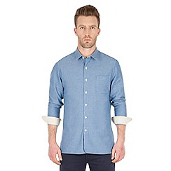 Racing Green - Fortune Chambray Shirt