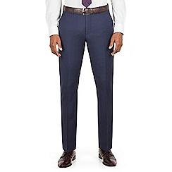 J by Jasper Conran - J by Jasper Conran J by Jasper Conran Blue flat front slim fit italian suit trouser